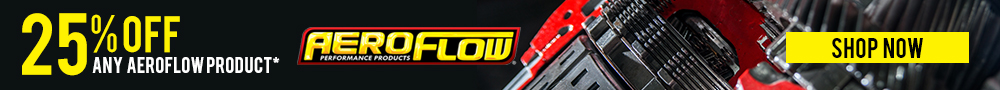 25% off aeroflow products